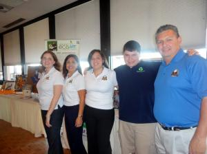 Grant with Tee Time board members